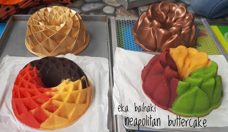 NEAPOLITAN CAKE by Eka Baihaki