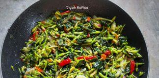 Oseng Bunga Pepaya by Diyah Nafisa