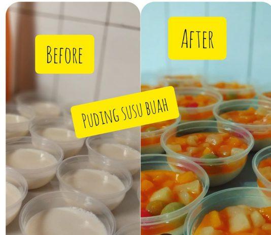 Puding Susu Buah by Ine Mamengko