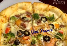 pizza tanpa ulen pegel / mixer by Fah Umi Yasmin