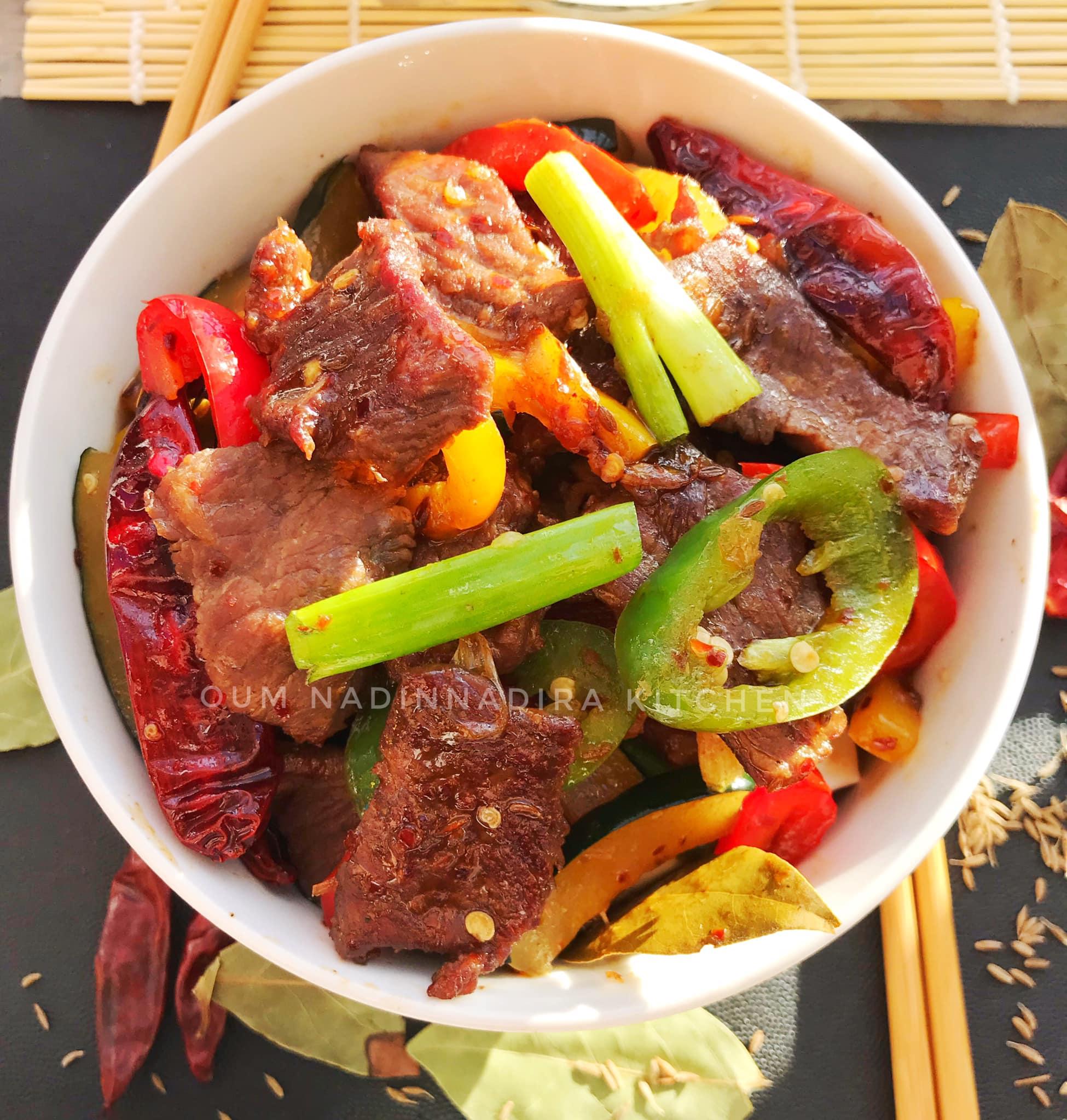 Daging Sapi Pedas khas Chengdu by Monica Tunjungsari Omar 1