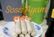 Sosis Ayam homemade by Sri Muryanti Syamsir