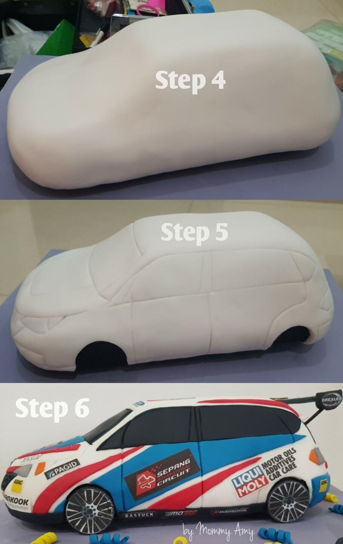 Step by step Racing Car 3 Dimensi by Amitya Koesnowadi 2