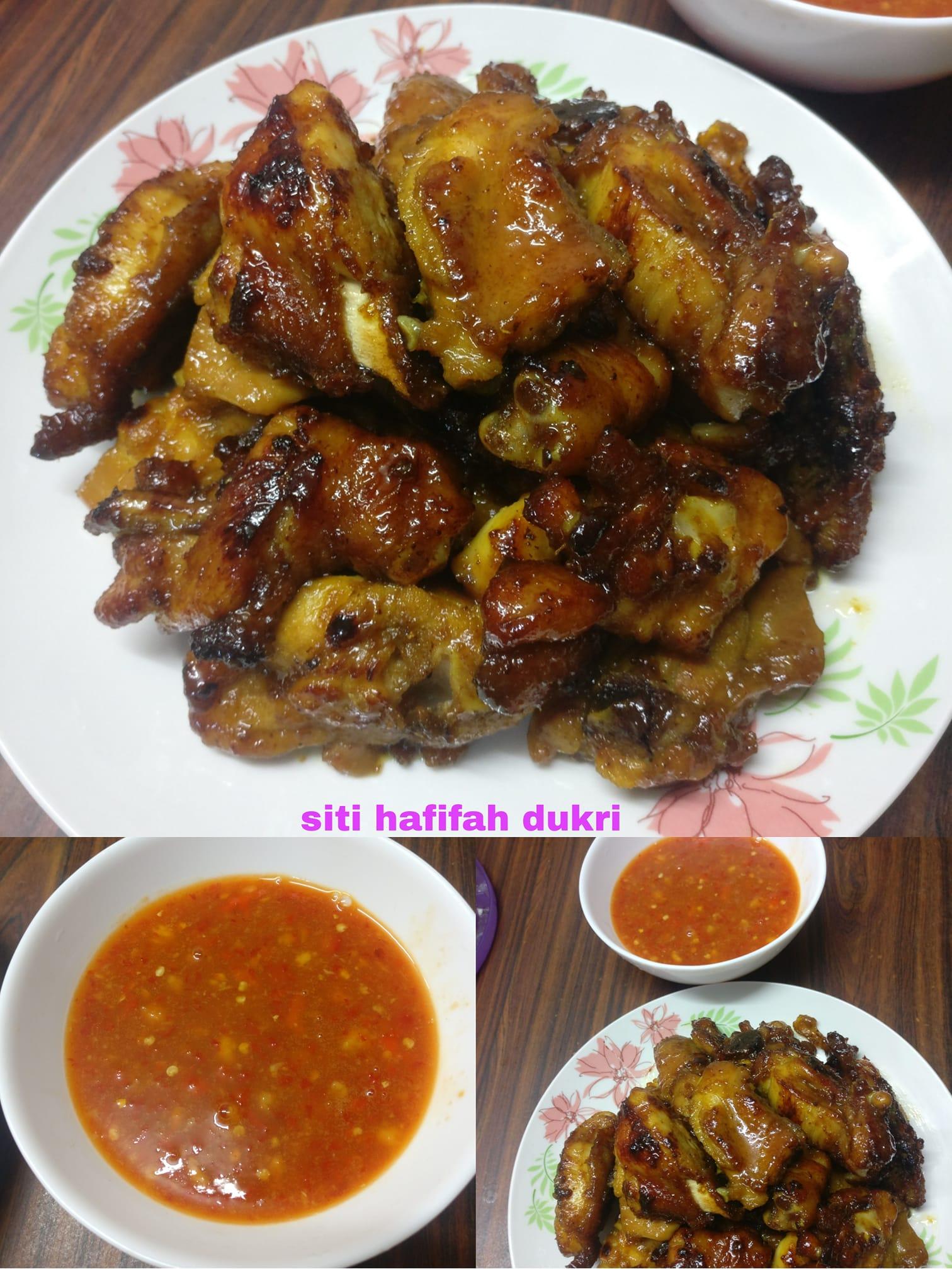Ayam goreng madu dan saos ala thailand by Siti Hafifah Dukri