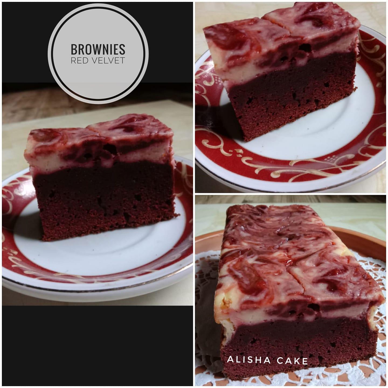Brownies Red Velvet by Alisha Shofia