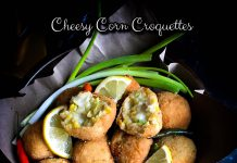 Cheesy Corn Croquettes by Monica Tunjungsari Omar