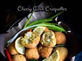 Cheesy Corn Croquettes by Monica Tunjungsari Omar