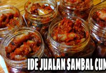 IDE JUALAN SAMBAL CUMI by Shella Miranti Anandita