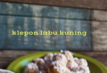Klepon Labu Kuning by Anik Shafir