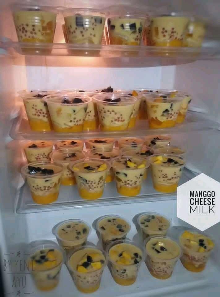 Manggo cheese milk ekonomis by Yeni Ayu