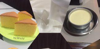 Orange Ogura Cotton Cake by Rina M