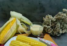 Puding Jagung dengan vla by Aning Miza