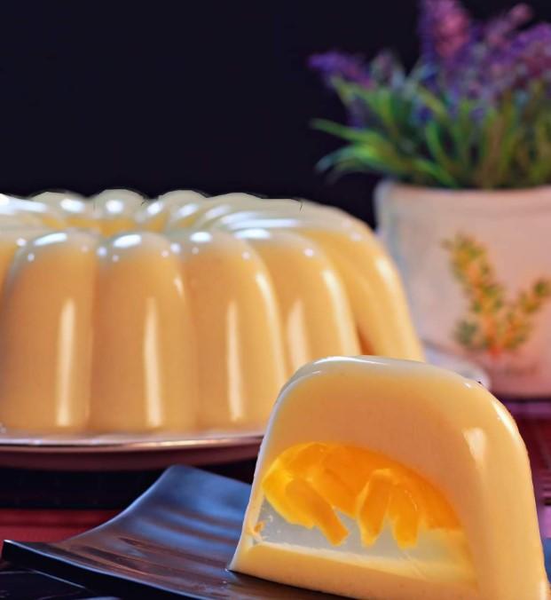 Puding nangka susu by Momandson Pudding
