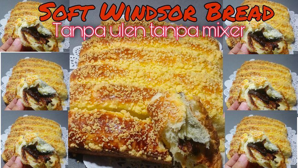 Soft Windsor Bread by Asma Fandhy
