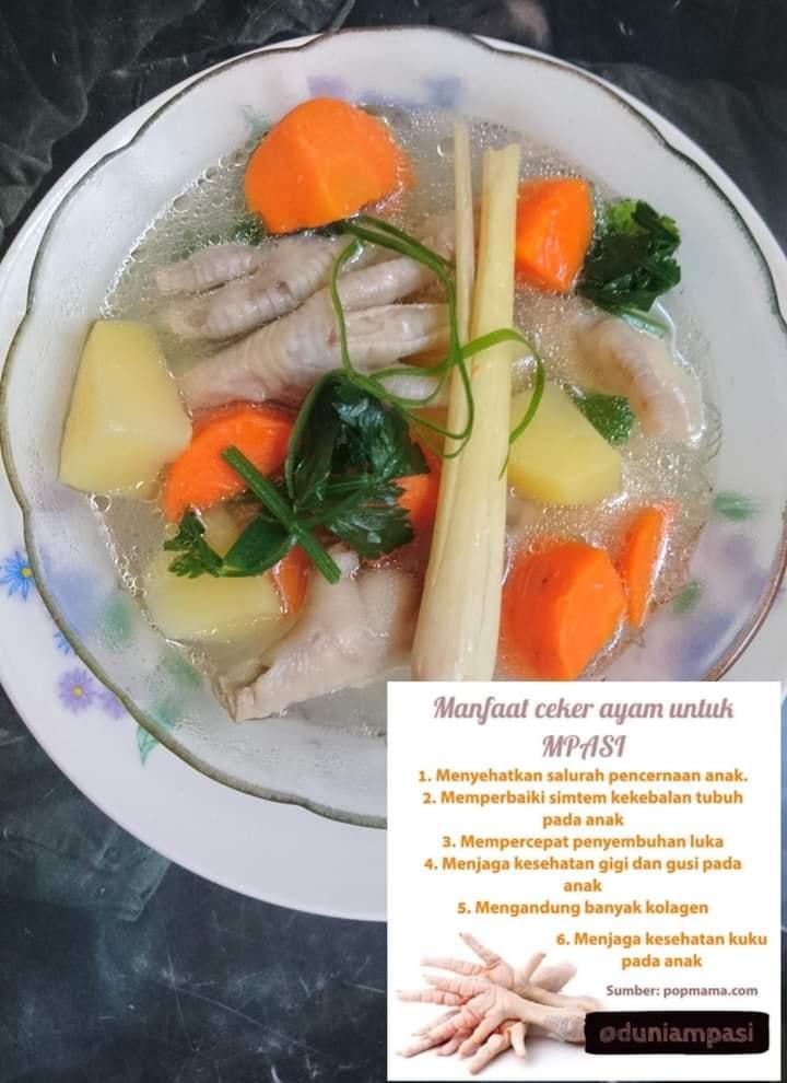 Sup ceker ayam by Nanda Sukesi