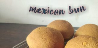 mexican bun recipe by Desty Desty Sadiyati