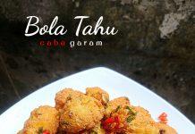 resep BOLA TAHU CABE GARAM by Melany Sam's