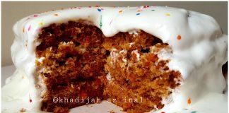 resep CAKE WORTEL by Khadijah Az