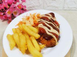 resep Chicken Katsu saus Barbeque by Melinda