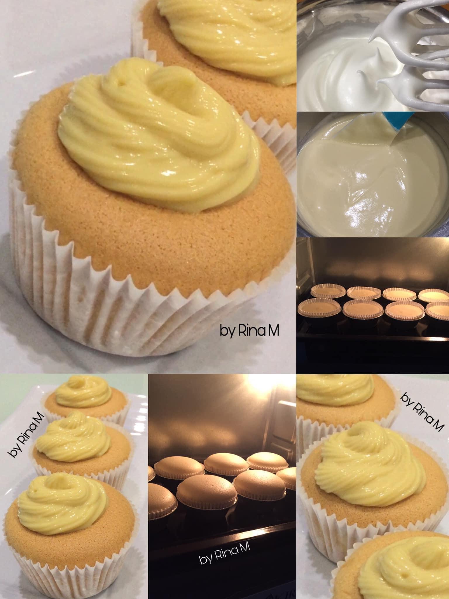 resep Condensed Milk Cupcakes by Rina M
