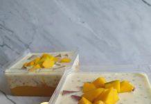 resep Creamy Mango Sago by Mariam Rahmatiah