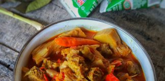 resep GULAI NANGKA MUDA & DAGING SAPI by Dianish's Kitchen
