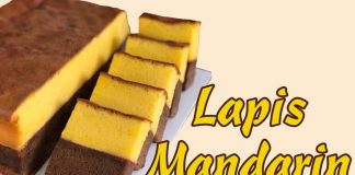 resep Lapis mandarin ekonomis by Wisnu Praganta