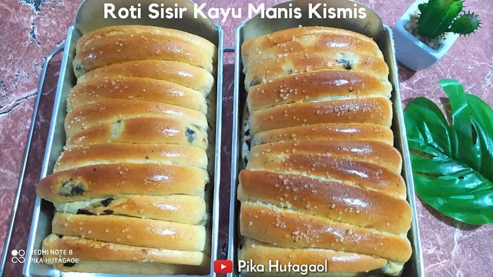 resep ROTI SISIR KAYU MANIS KISMIS by Frisca MoNica YosephiNe Hutagaol