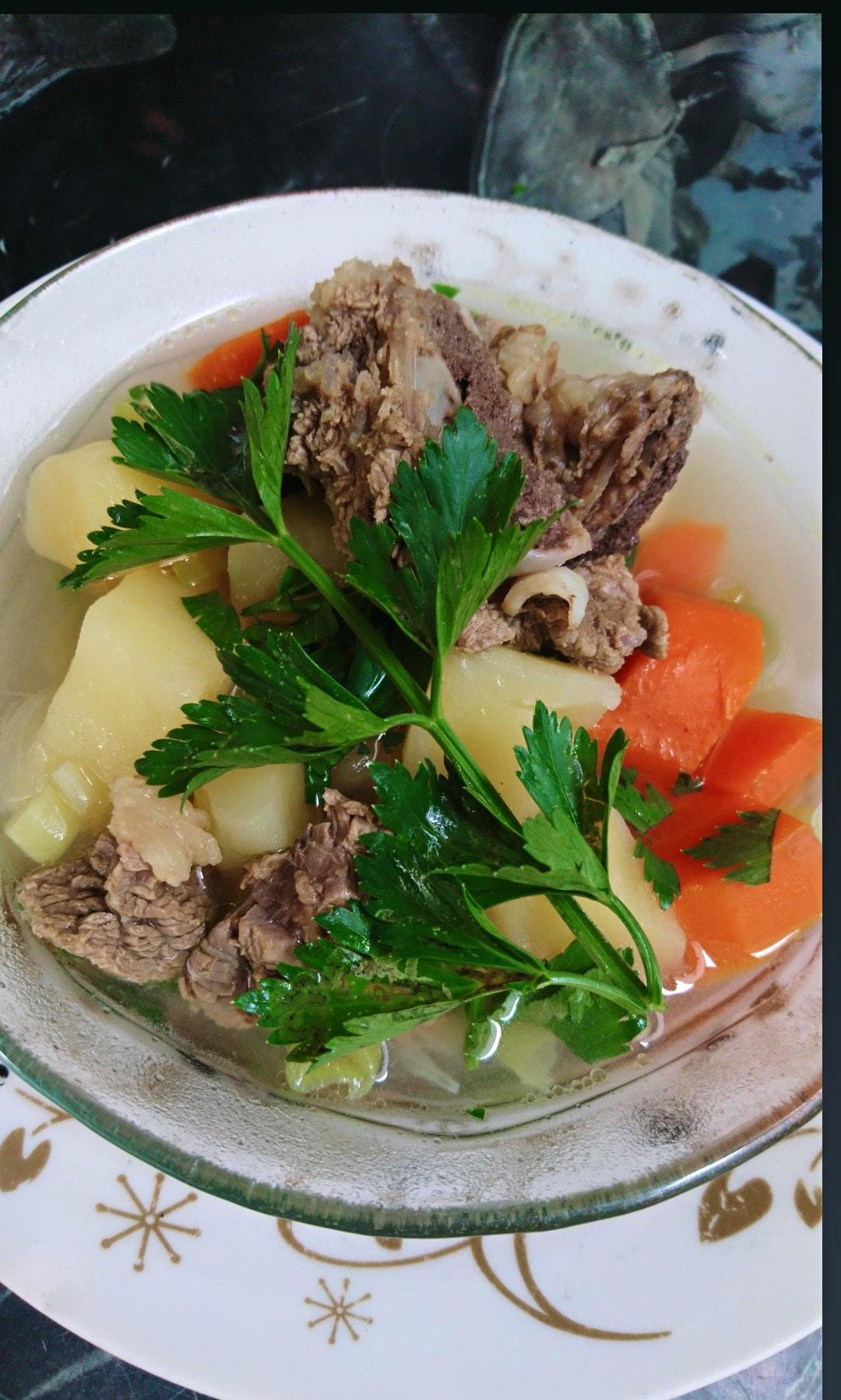 resep Sop tulang sapi by Nanda Sukesi