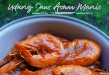 resep UDANG SAUS ASAM MANIS by Dianish's Kitchen