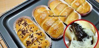 resep roti pisang coklat by Hery Kurniati