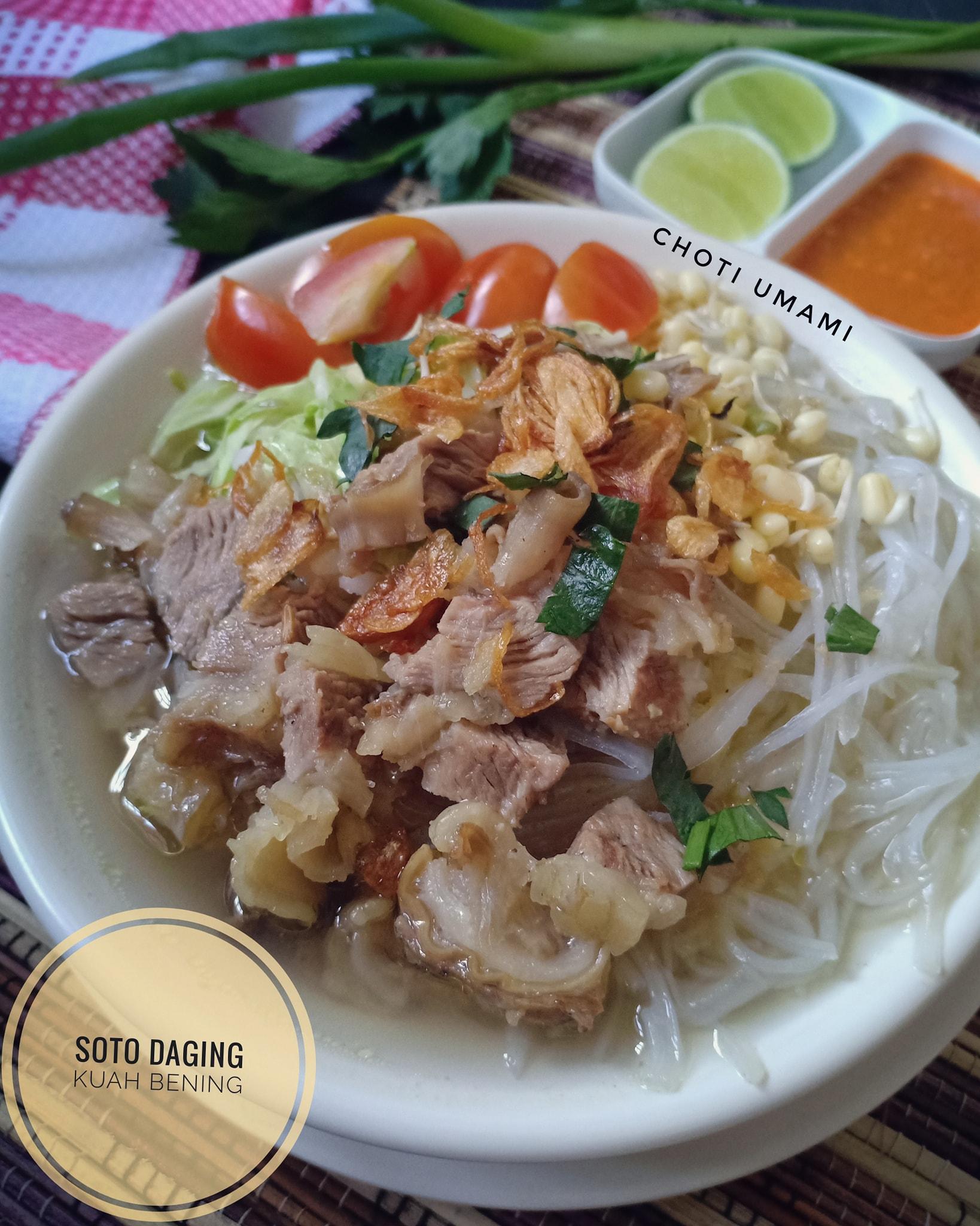 resep soto Kuah bening by Choti Umami