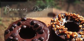 BROWNIES DONAT by Dianish's Kitchen