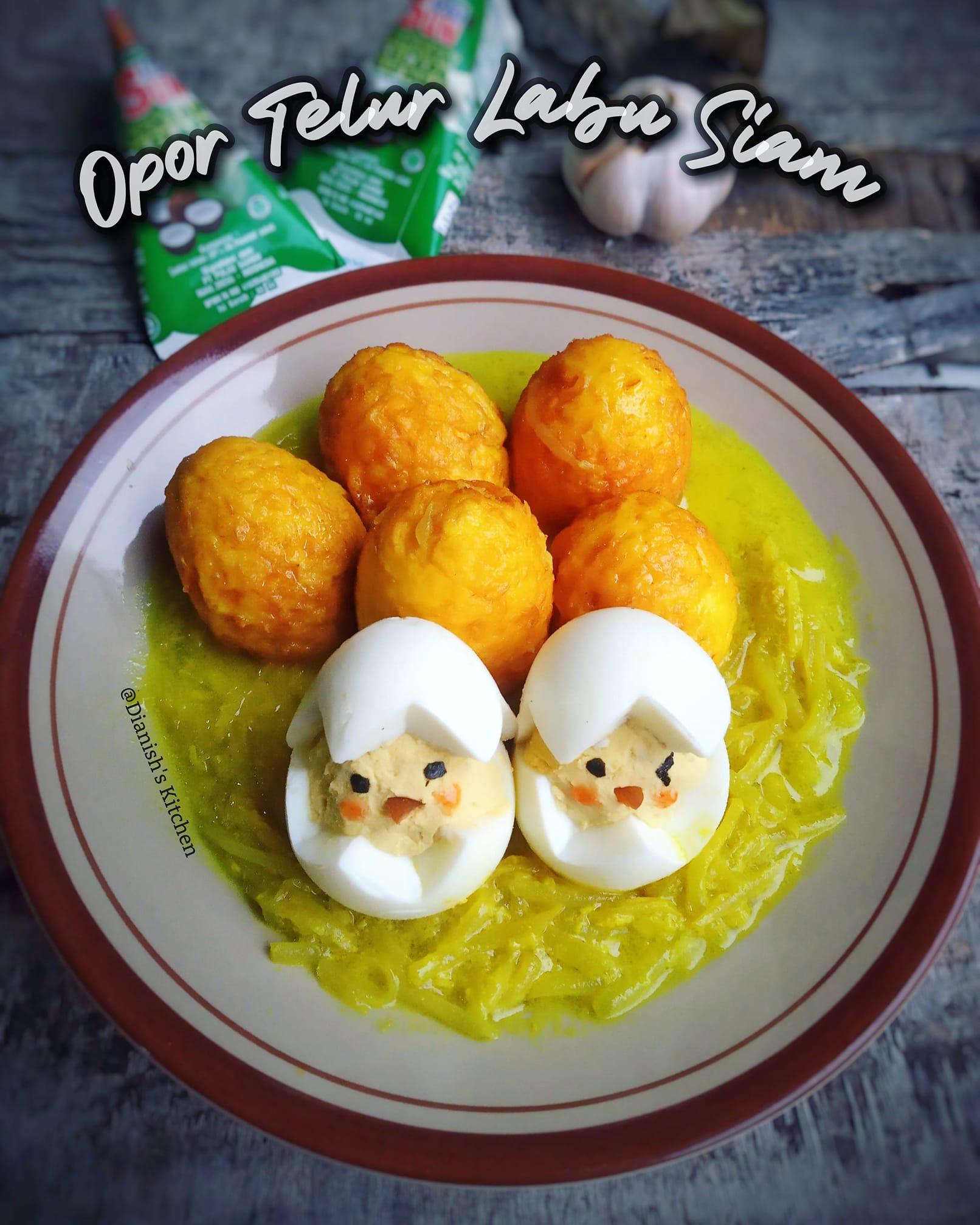 OPOR TELUR LABU SIAM by Dianish's Kitchen