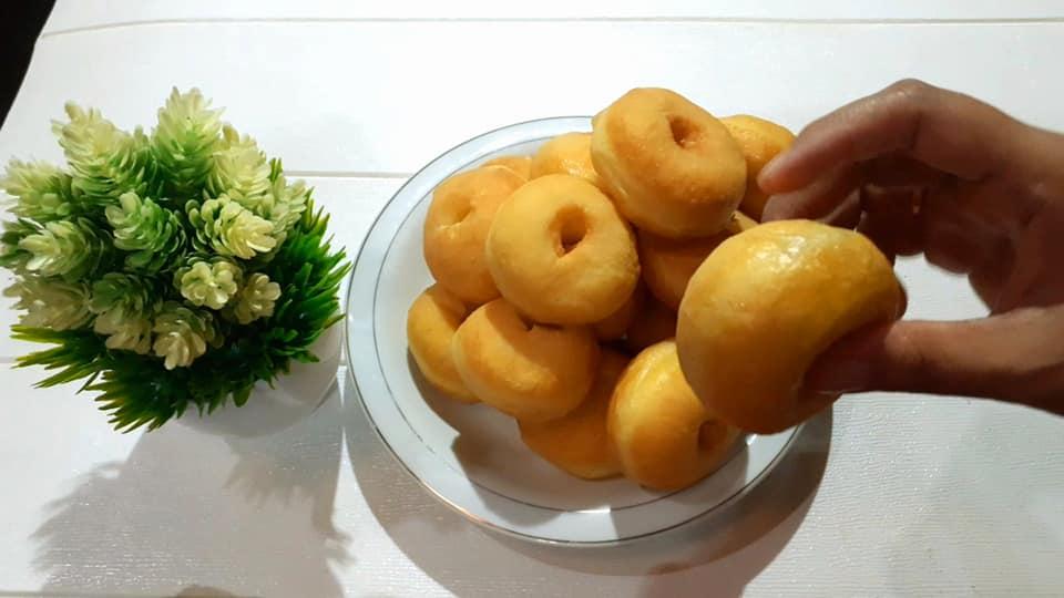 donat kentang metode autolysis by Eka Novita Sari