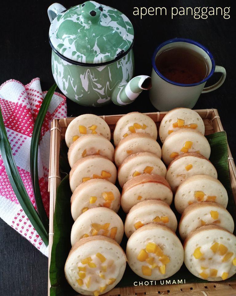 kue jadoel apem panggang by Choti Umami