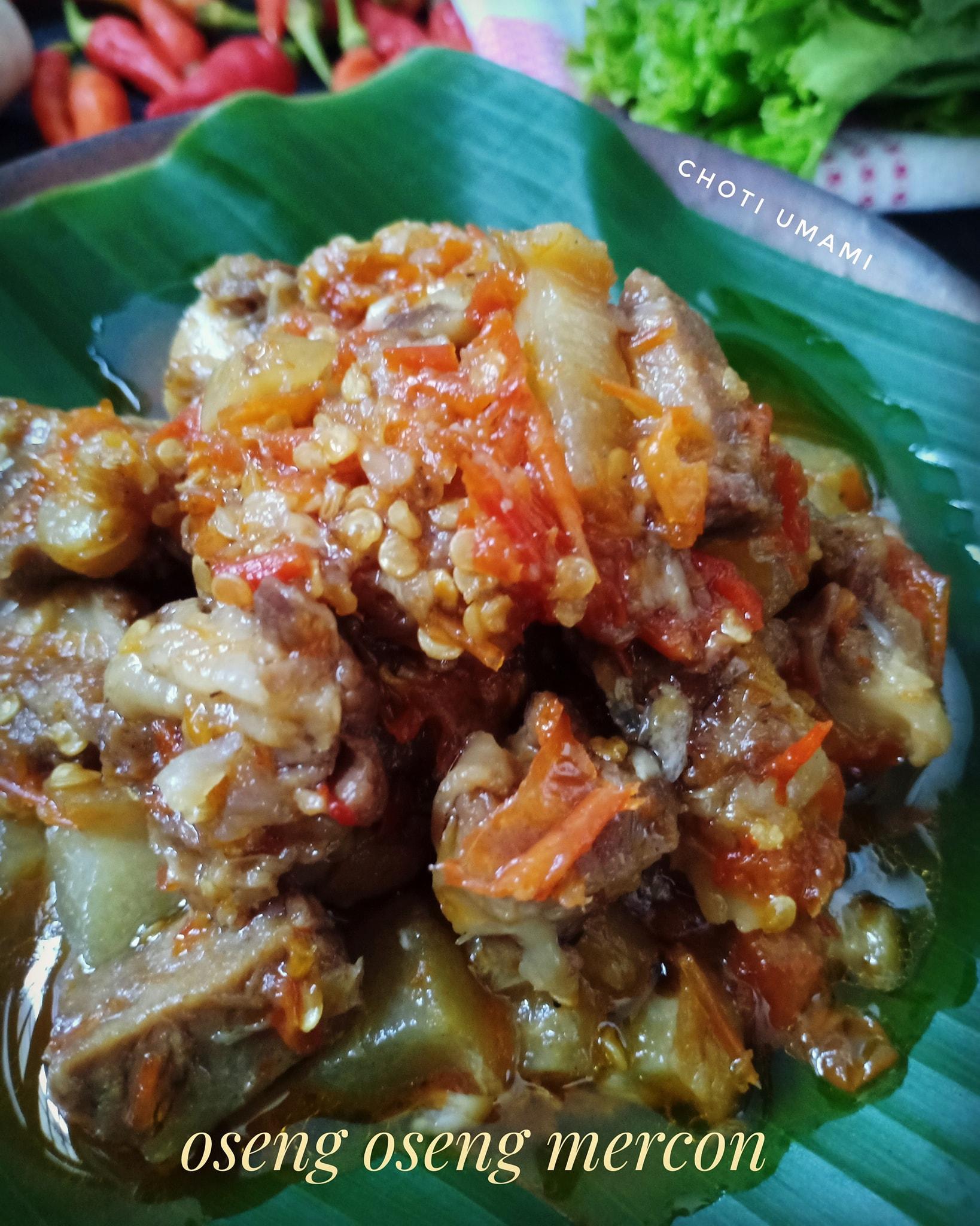 oseng oseng mercon by Choti Umami