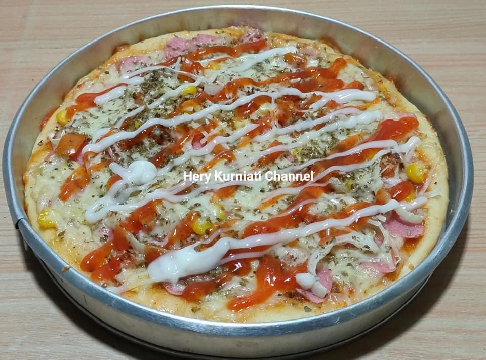 pizza roti manis dan roti sobek sekali jalan by Hery Kurniati