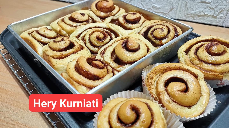 resep roti cinnamon roll by Hery Kurniati