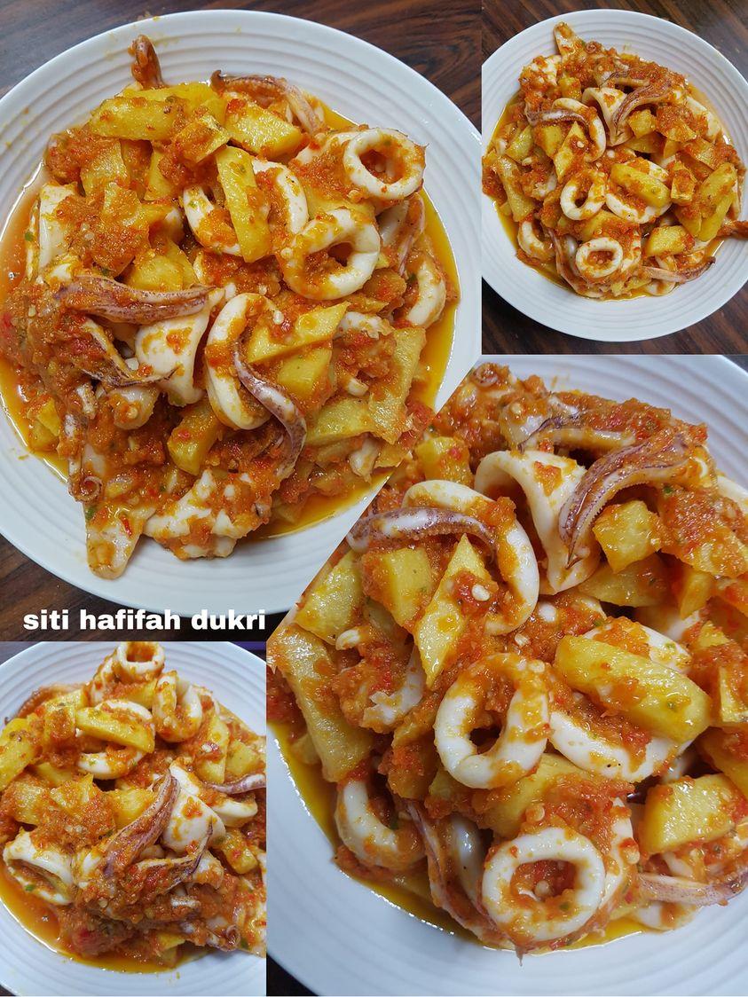 sambel atau balado cumi by Siti Hafifah Dukri