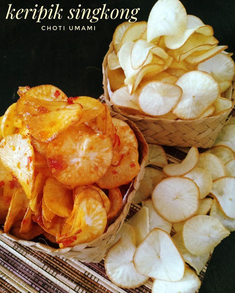 singkong pedas manis by Choti Umami