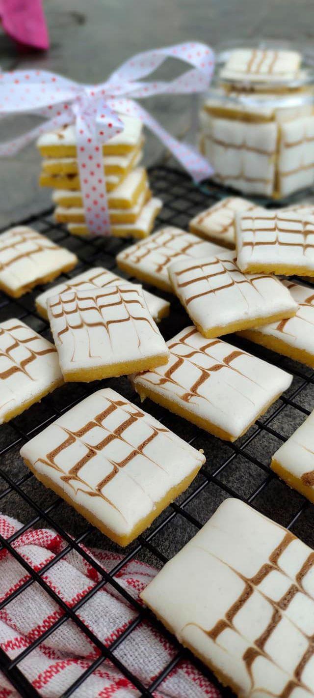 Resep Marmer Cookies / Kukis Batik by Resa Zu 3