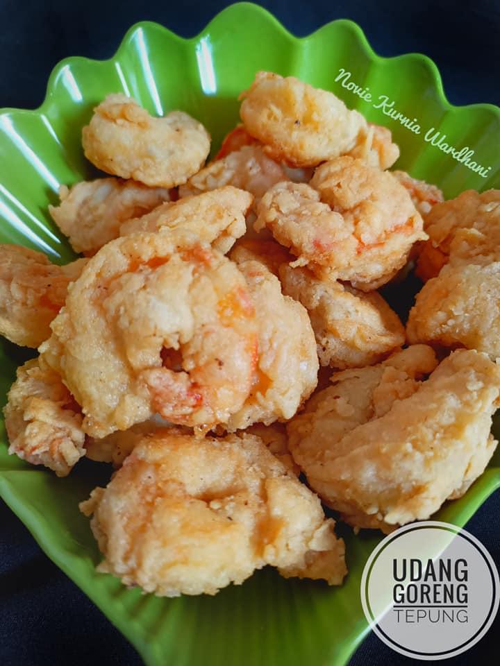 Resep Udang Goreng Tepung, SAYUR BENING GAMBAS BAKSO BIHUN dan OREK TEMPE 2