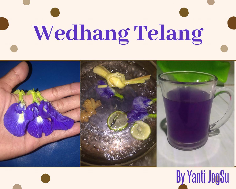 Wedhang telang by Yanti JogSu