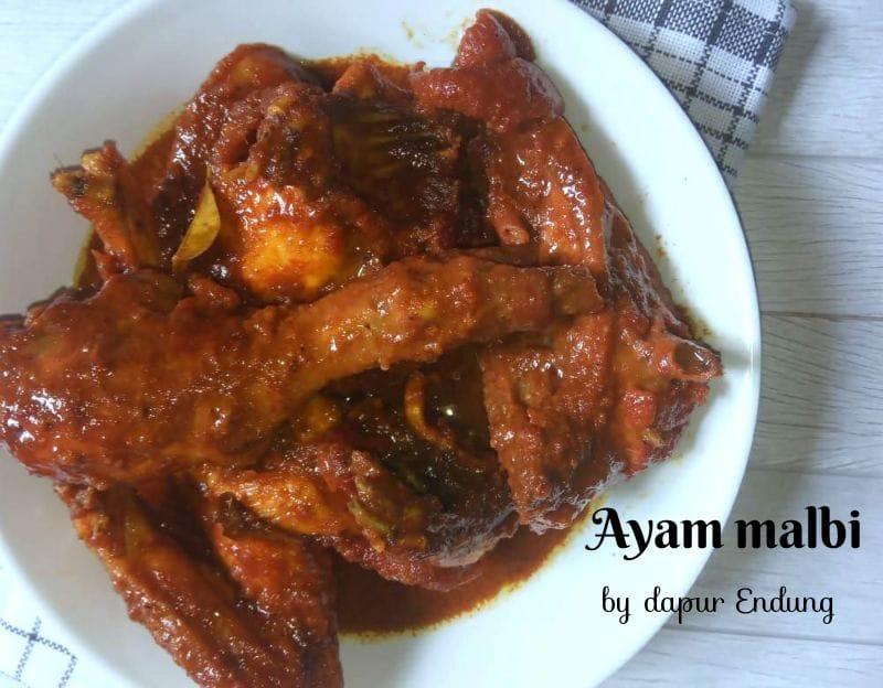 Ayam malbi by Dapurnya Anggie