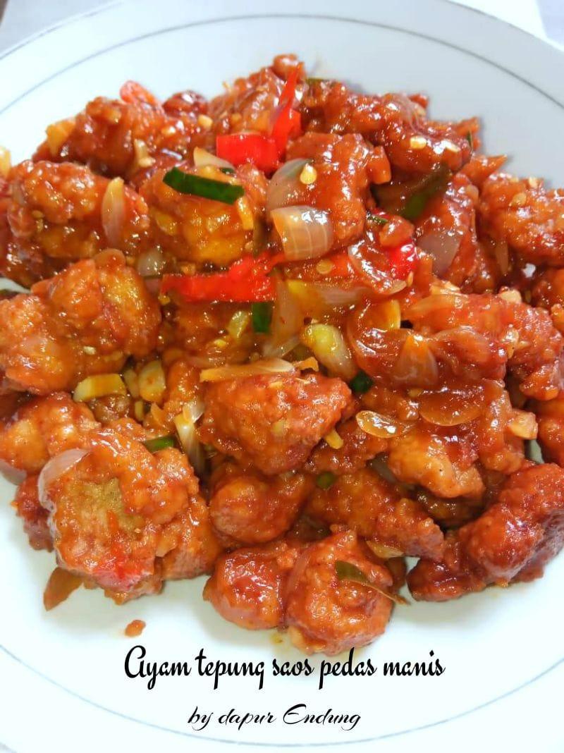 Ayam tepung saos pedas manis by Dapurnya Anggie