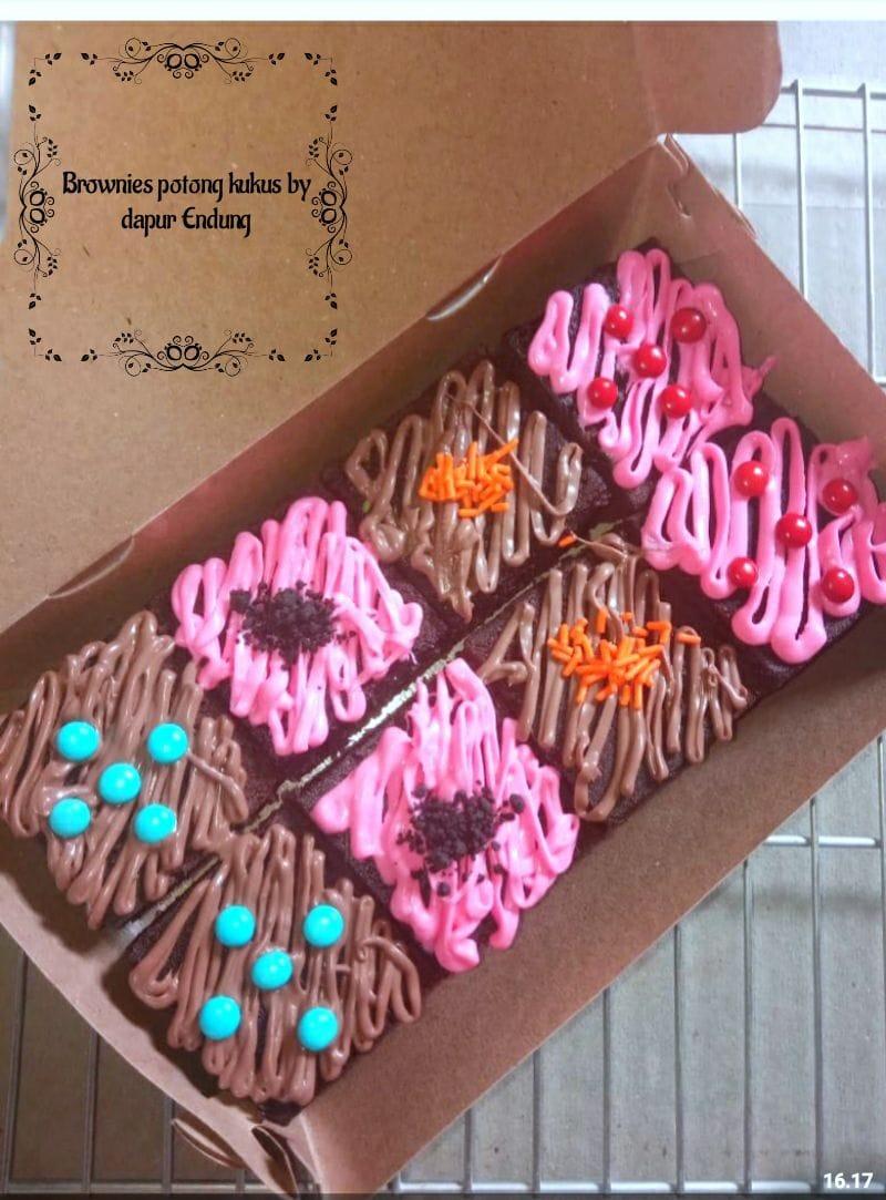 Brownies potong kukus by Dapurnya Anggie