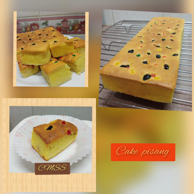 CAKE PISANG by Catharina Maria Sri Sumarti