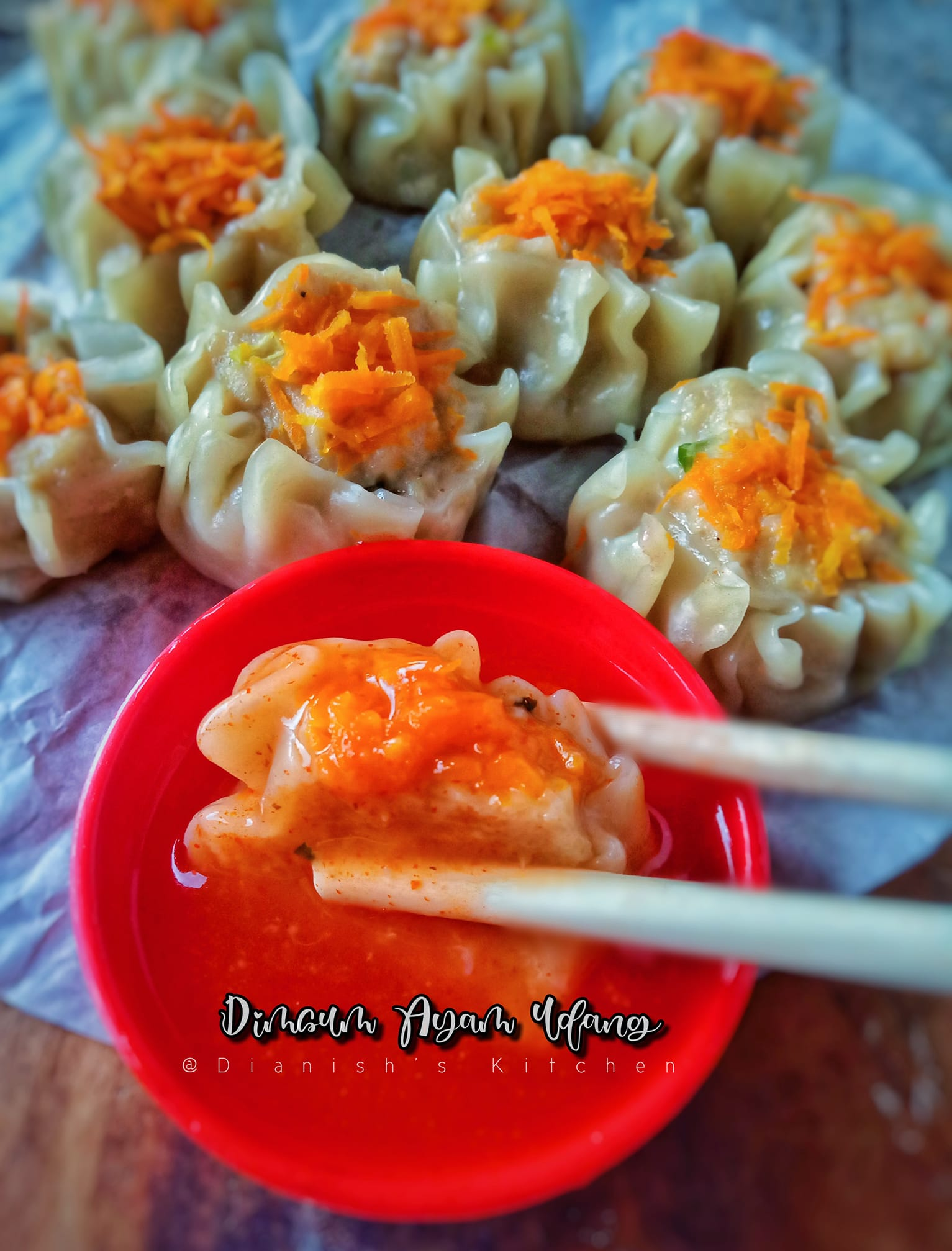 DIMSUM AYAM UDANG by Dianish's Kitchen