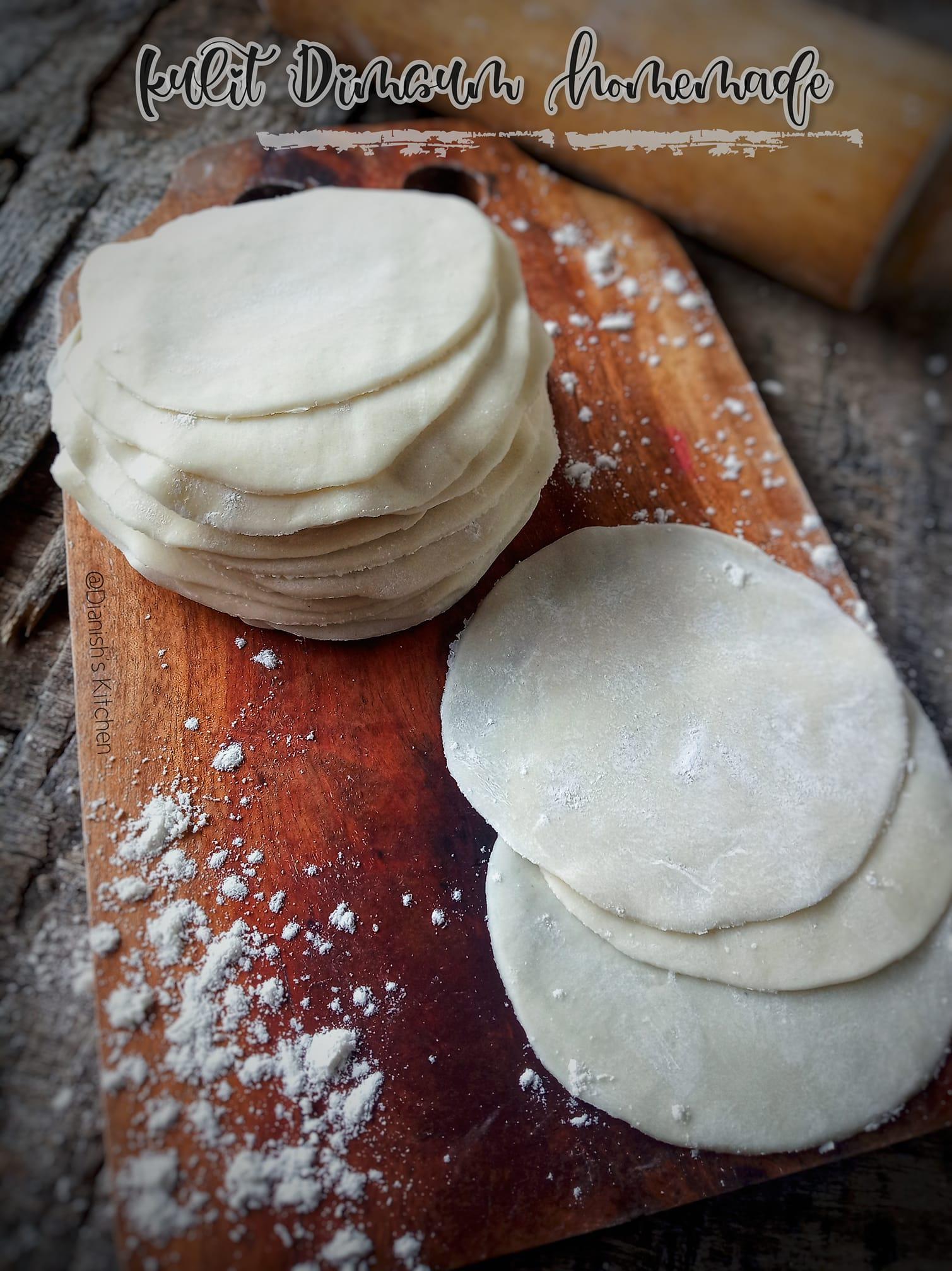 KULIT DIMSUM HOMEMADE by Dianish's Kitchen